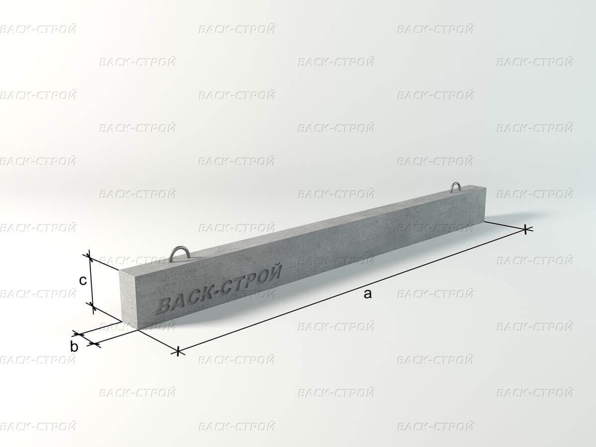 Перемычка брусковая 5ПБ 25-37